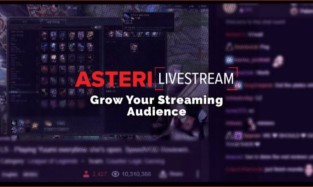 Asteri LiveStream is expanding the global audience for Esports events