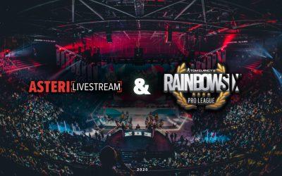 Ubisoft taps Asteri for Rainbow Six North American League Tournament
